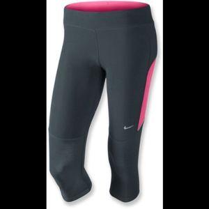 Nike Filament Dri-Fit Capri Leggings Size Small
